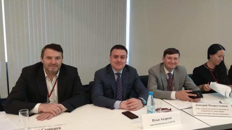 Илья Сергеевич Андреев, управляющий партнер Zenith PM